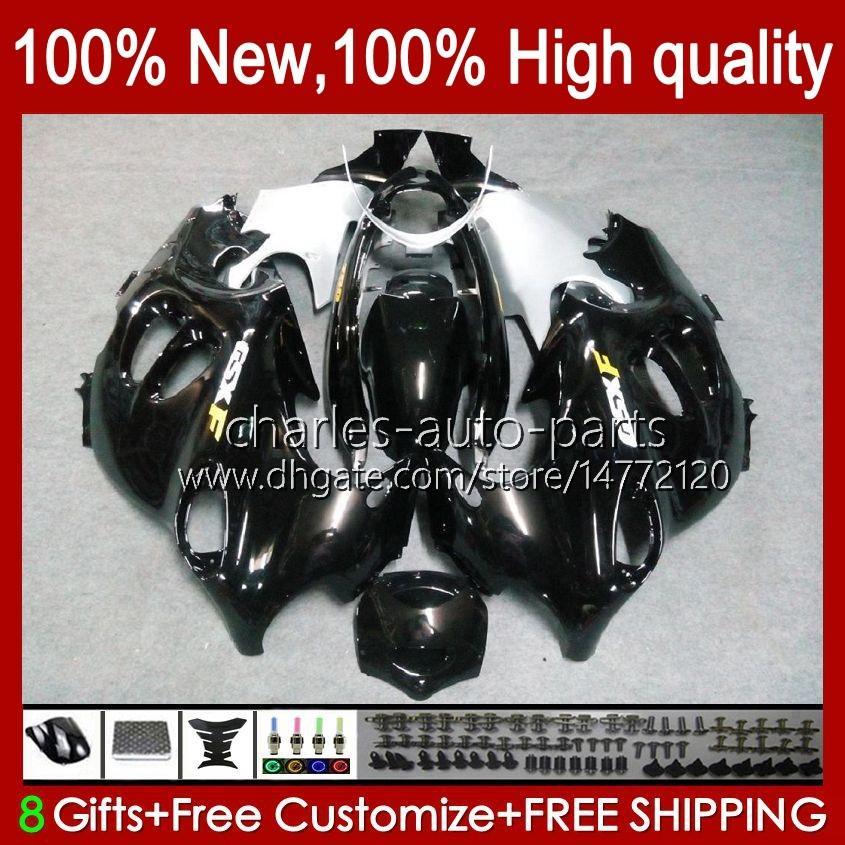 Cuerpo para Suzuki Katana GSX600F GSXF600 GSXF750 GSXF 600 750 CC 98 99 00 01 02 29NO.19 600CC 750CC GSX750F GSXF-600 GSXF-750 1998 1999 2000 2001 2002 Valores de carga Negro