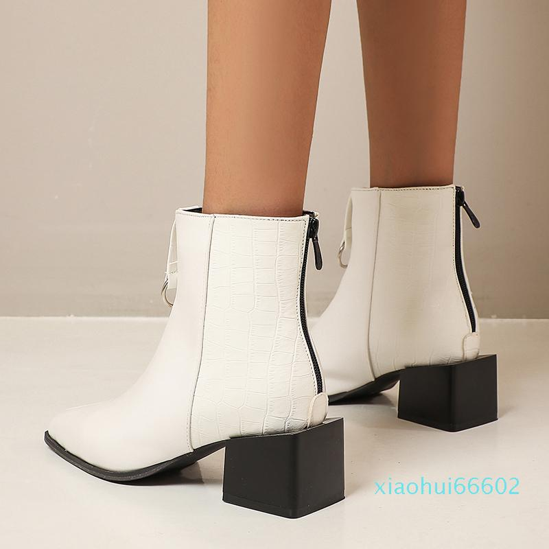 Winter Pointed Toe Ankle For Cowboy