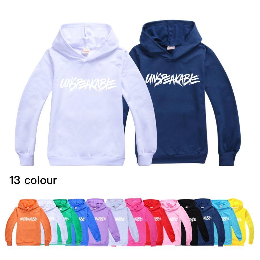 13-Color indescritível crianças pulôver camisola com capuz meninos e meninas camisola manga comprida crianças hoodie h202 bebê crianças roupas