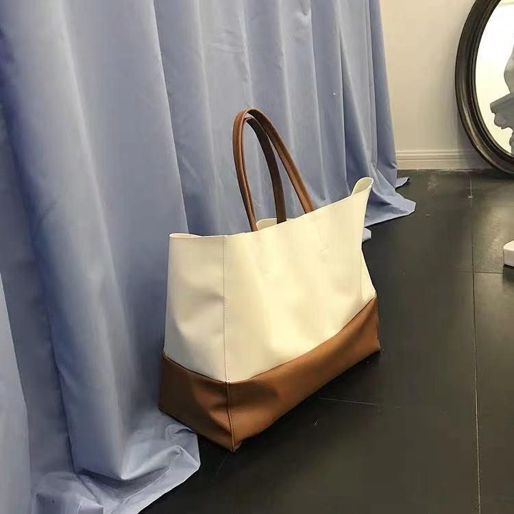 Sac à bandoulière HBP 06 sac à bandoulière de grande capacité Sacs à provisions en cuir de grande capacité