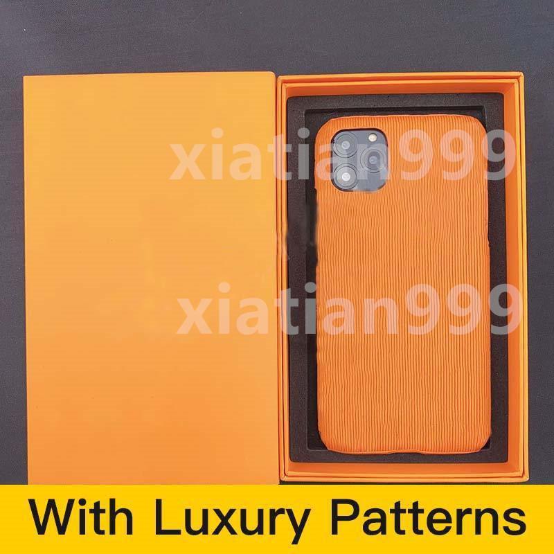 С коробкой 8 цветной мода iPhone 12 Pro Max 11 Pro Max 7 8 Plus X XR XS Max Case PU кожаный чехол падение