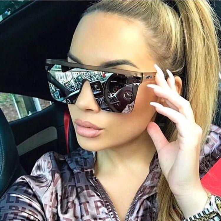 Sonnenbrille Frauen Gafas de Sol Hombre 2021 Sonnenbrille Damen Personalisierte Retro Wilde Lunettes Soleil Homme Marque Mode
