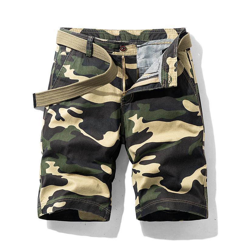Männer Shorts Männer Mode Jogger Camouflage Kurze Herren Fracht Sommer Körper Fitness Männliche Kleidung
