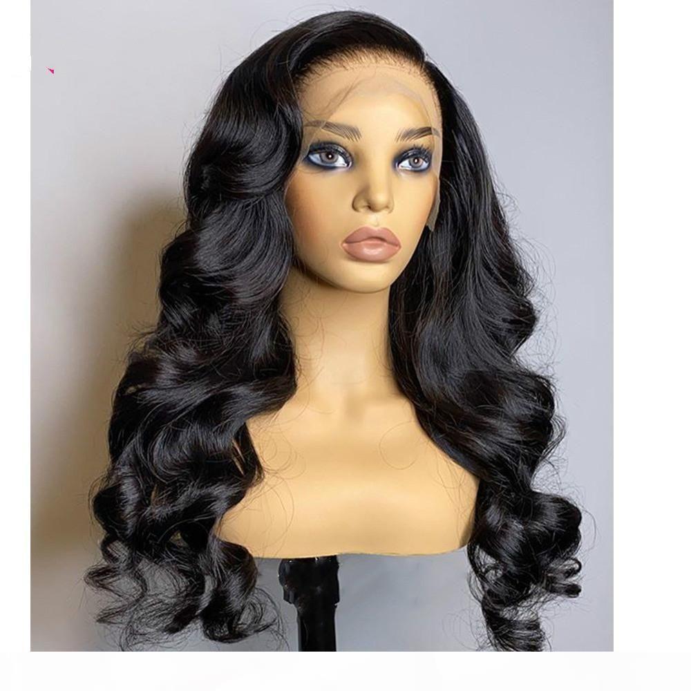 360 encaje transparente peluca frontal peluca de onda de cuerpo pre arrollada 360 pelucas de encaje completo pelucas humanas para mujeres negras piel derretimiento 130 remy3