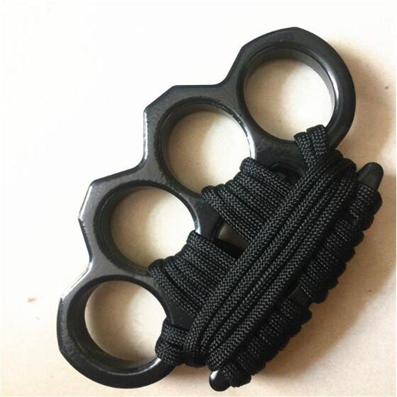 Iyi Yeni Halat Coverbrass Marka Knuckles Taktik Survival Çok Fonksiyonlu Kendini Savunma EDC Dusters Aracı Ile Oxford Çanta