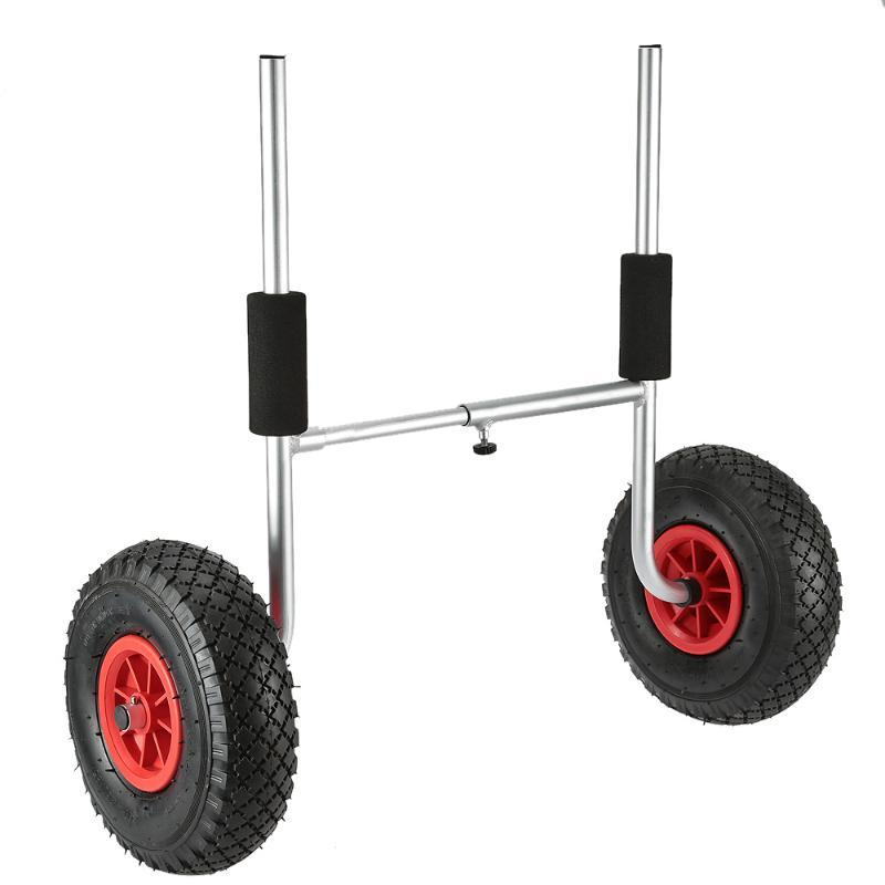 50KG Loading Capacity Detachable Kayak Trolley Energy-saving Two-wheeled Kayak Carrier Cart accessories
