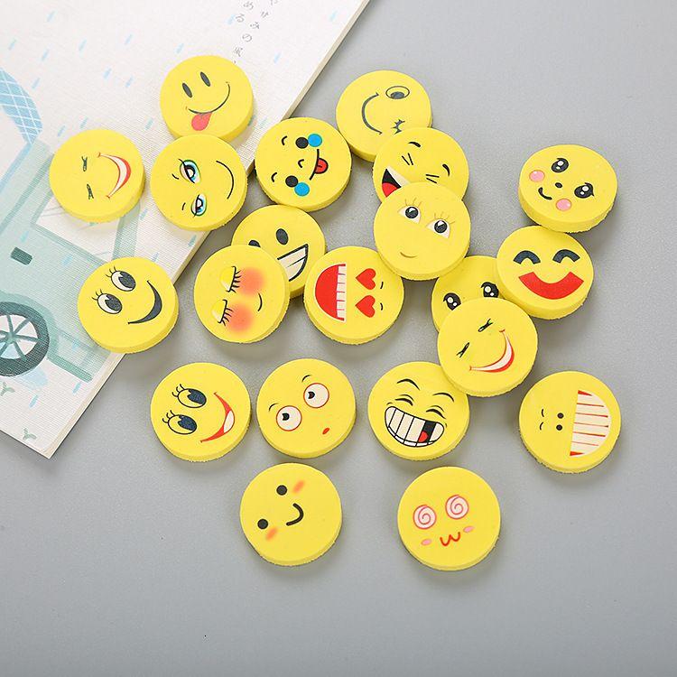 식 크리 에이 티브 미소 만화 지우개 귀여운 학습 편지지 학생 상 선물