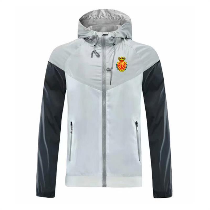 Giydirme Sonbahar Kazak Hoodie Spor Ceket Ceket Uzun Kollu Erkek Logo Mallorca Fermuar 2021 Erkekler Ile Rüzgar Çanta Tasarımcısı XDEDU