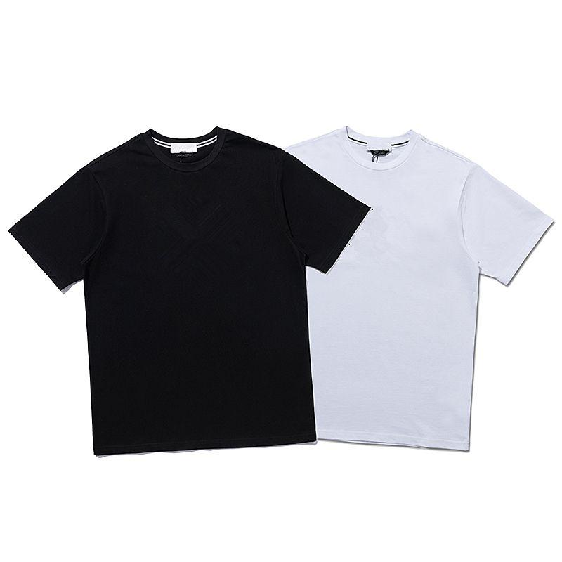 CP TopStoney 2021 Досуг моды хлопчатобумажная рубашка мужская улица спортивная футболка вышивка логотип с коротким рукавом удобный верх