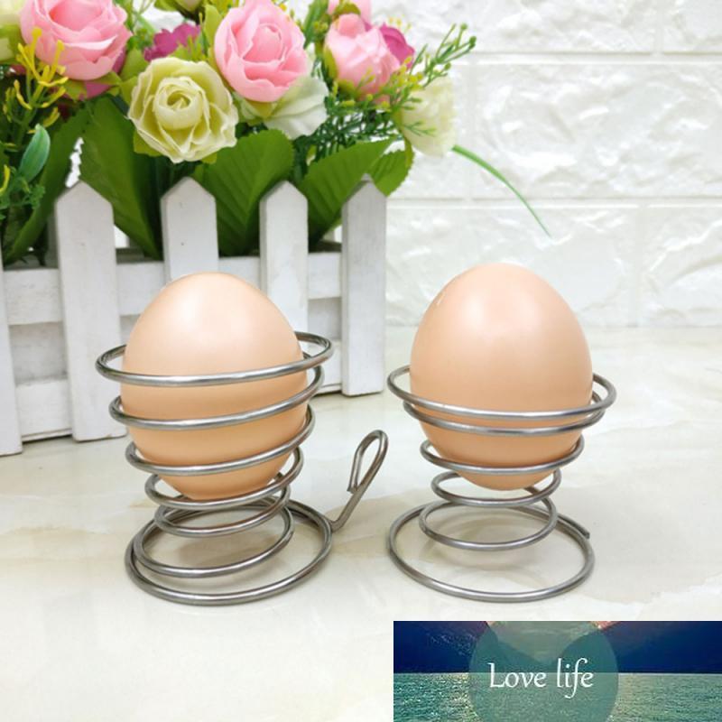 1 шт. Яйцо стойки из нержавеющих стальные пружинные проволоки лоток яйцо чашка вареных яиц держатель инструмент бытовые варочные гаджеты кухонные аксессуары