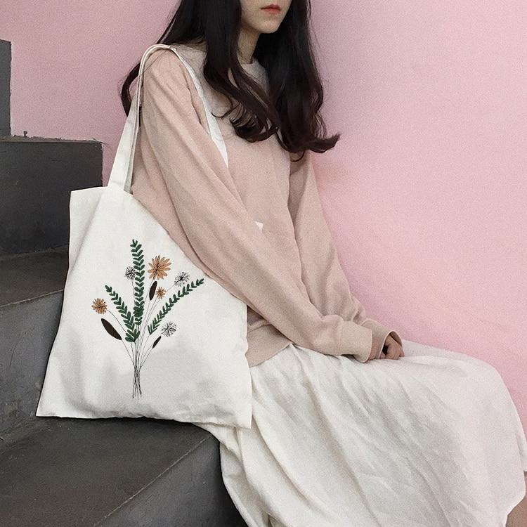 Neue Einkaufstasche Tägliche Verwendung Faltbare Handtasche Große Kapazität Plaid Canvas Tote Für Frauen Weibliche Shopper Tasche