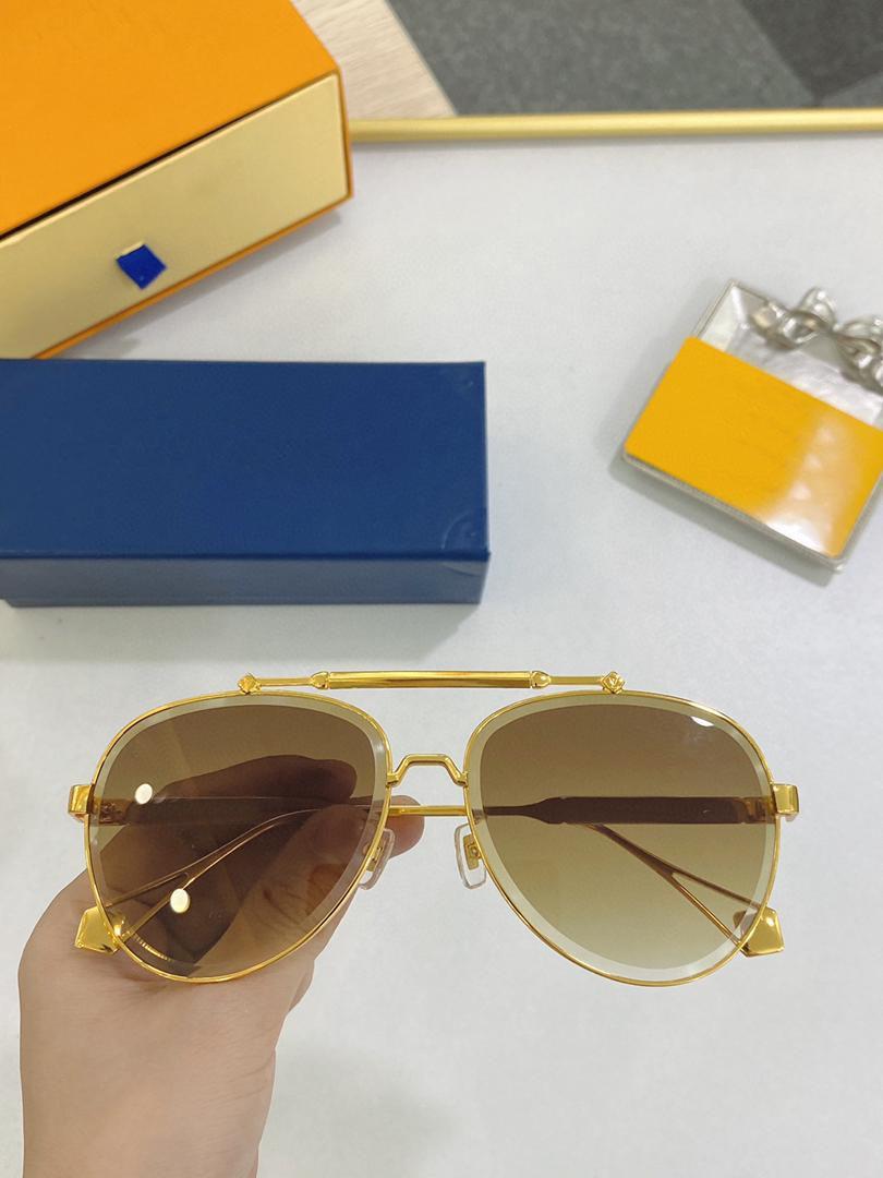Mannen Zonnebril voor Vrouwen Nieuwste Verkoop Mode 0972 Zonnebril Mens Sunglass Gafas de Sol Topkwaliteit Glas UV400 Lens met Case