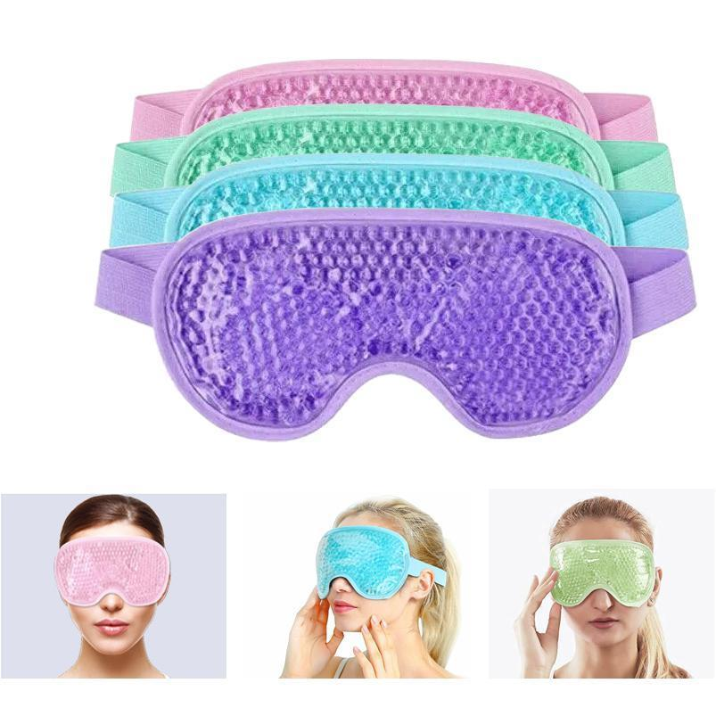 Gel Eye Mask Reusable Beads For Hot Cold Therapy Soothing Relaxing Beauty Eye Cover Sleeping Ice Goggles Sleep Mask B jllTLv