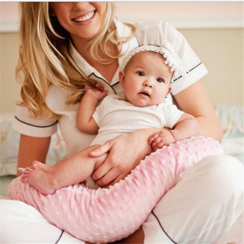 Newborn Baby Nursing Pillows Maternity Baby U-Shaped Breastfeeding Pillow Cotton Feeding Waist Pillow Care Dropship