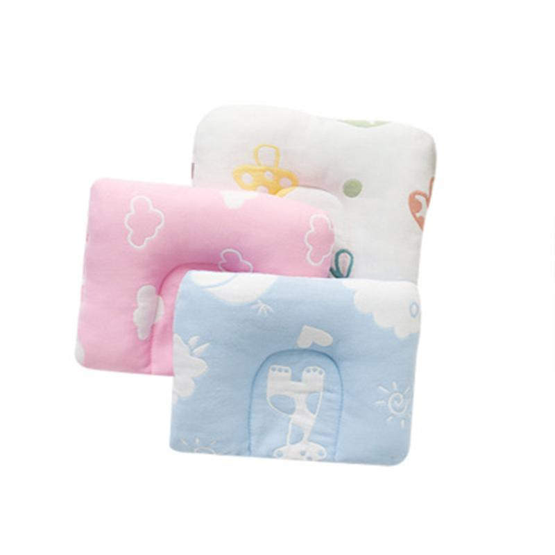 Newborn Sleep Positioner Baby Pillow Head Protection Flat Head Anti Roll pillow kids Travel Neck Baby Room Decor