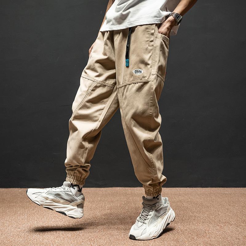 Fashion Streetwear Men's Brem Adjusted Designer Cargo Harem Cashmere Hip Joggers Pants Rdh1