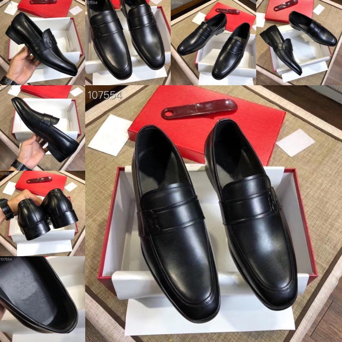 Q4 럭셔리 남성 신발 공식적인 결혼식 남자 신발 클래식 로퍼 남자 가죽 드레스 신발 PRIA Chaussures Classique Homme 11에 Sepatu Slip