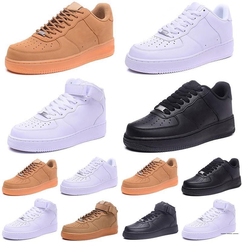 Klasyczny styl mężczyźni damskie dla 1 jeden buty do biegania Znani trenerzy Sportowe Deskorolkarz Betovhite Black 36-45 EUR