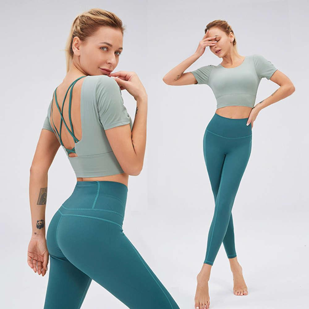 New two piece back women's quick dry top tracksuit