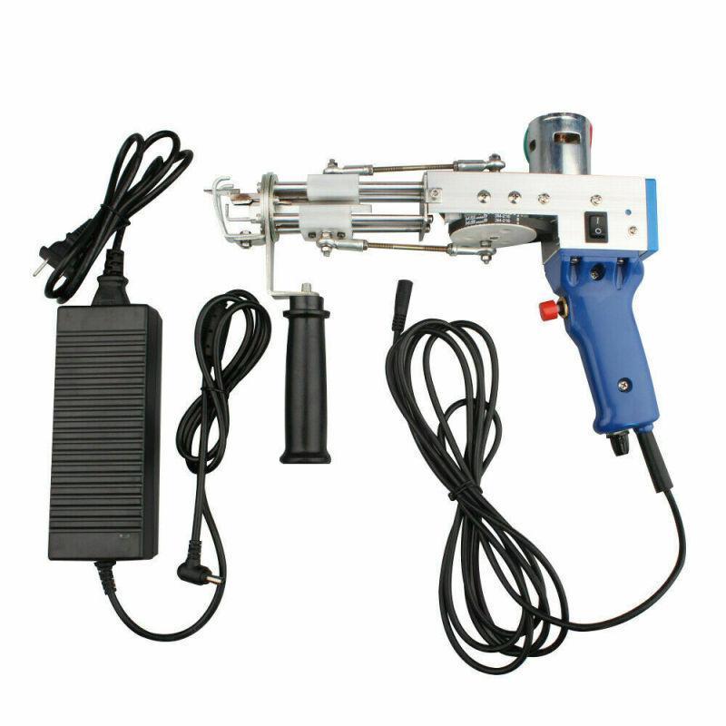 Tapete elétrico tufo tapete tapete tecelagem máquina de flocagem industrial bordado máquina corte pilha de tricô (pilha cortada)