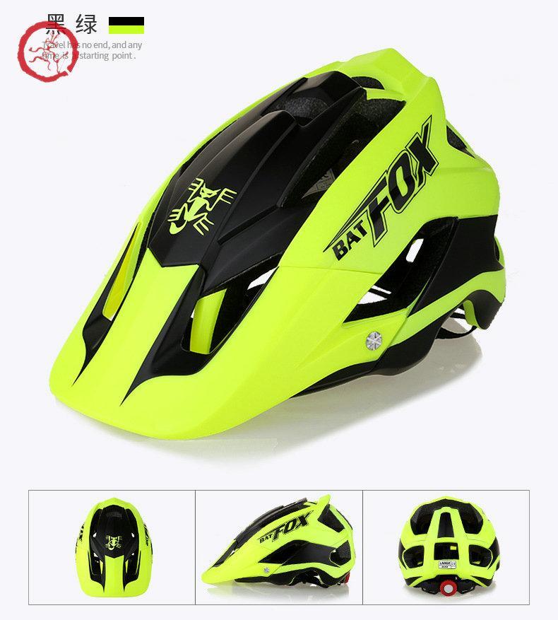Batfox / casque Beaver Casque de vélo intégré Helmet de vélo de Vélo de montagne F-659 PC + EPS AQHI003