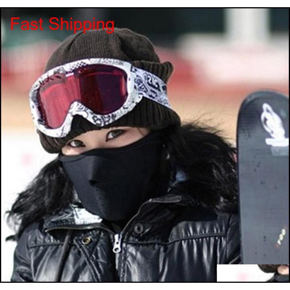 Polar yüz maskesi kış kayak rüzgar geçirmez boyun sıcak motosiklet bisiklet kap şapka bicyle termal eşarp açık qyldni homes2007