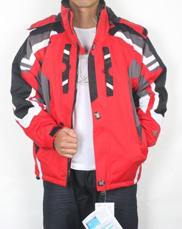 Queda-preto cinza novo homens de esqui de esqui casaco impermeável roupa de snowboard roupa de esqui casaco s m l xl xxl tamanho