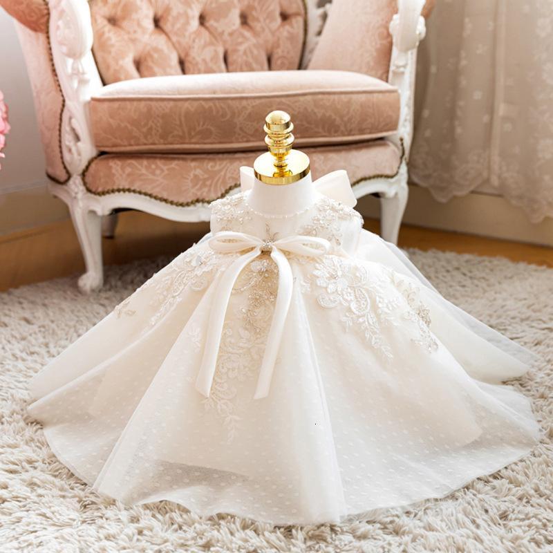 Ropa de niña para el bautismo Vestido de princesa del bautismo 1ra fiesta de cumpleaños vestido de novia Pageant Vestidos Vestidos Chicas 2 3 4 5 6 años