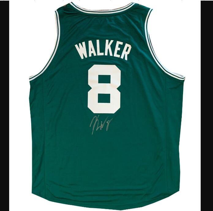 Walker imzalı imza imzalı imzalı Otomatik Jersey Gömlek