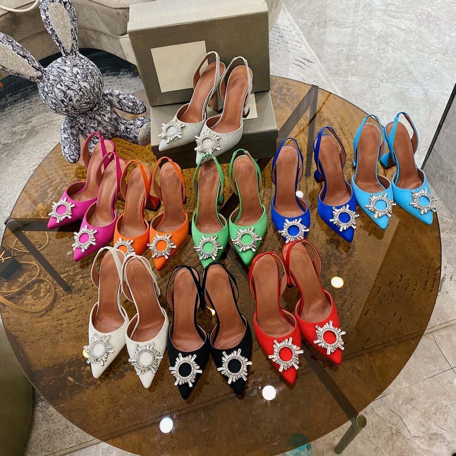Classics Women Shoes Sandals Tacones Moda Playa Playa Grueso Inferior Vestido Zapato Alfabeto Lady Sandal Cuero Talón alto Tallón por casa 011 020