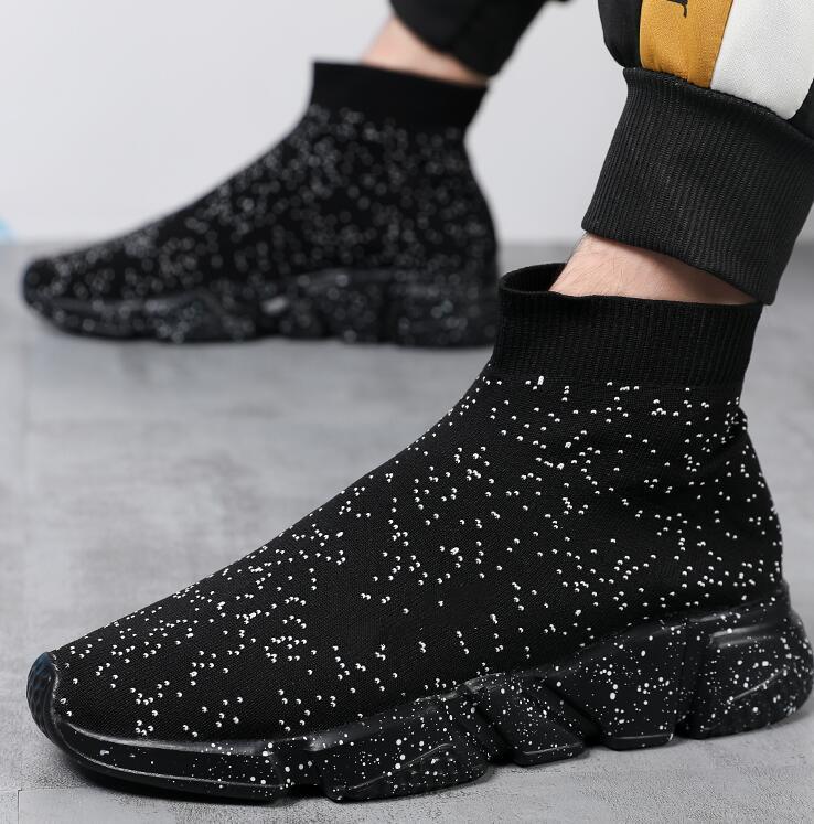 İlkbahar Sonbahar Atletik Açık Kız Ayakkabı Rahat Atletizm Yürüyüş Çorap Ayakkabı