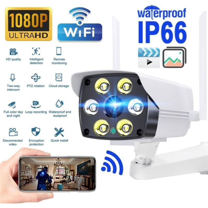 2.0 Mega Pixels Hd 1080P Ip Wifi Camera Outdoor Wireless Home Security Ip Camera 2MP Onvif P2P Camara