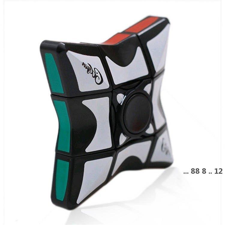 Rubik's Cube أعلى من الدرجة الأولى الجديدة 6 * 6 Fingertip Rubik's Cube أعلى، الغزل الأعلى، أطفال الضغط، لغز لعبة سلسلة FWF56