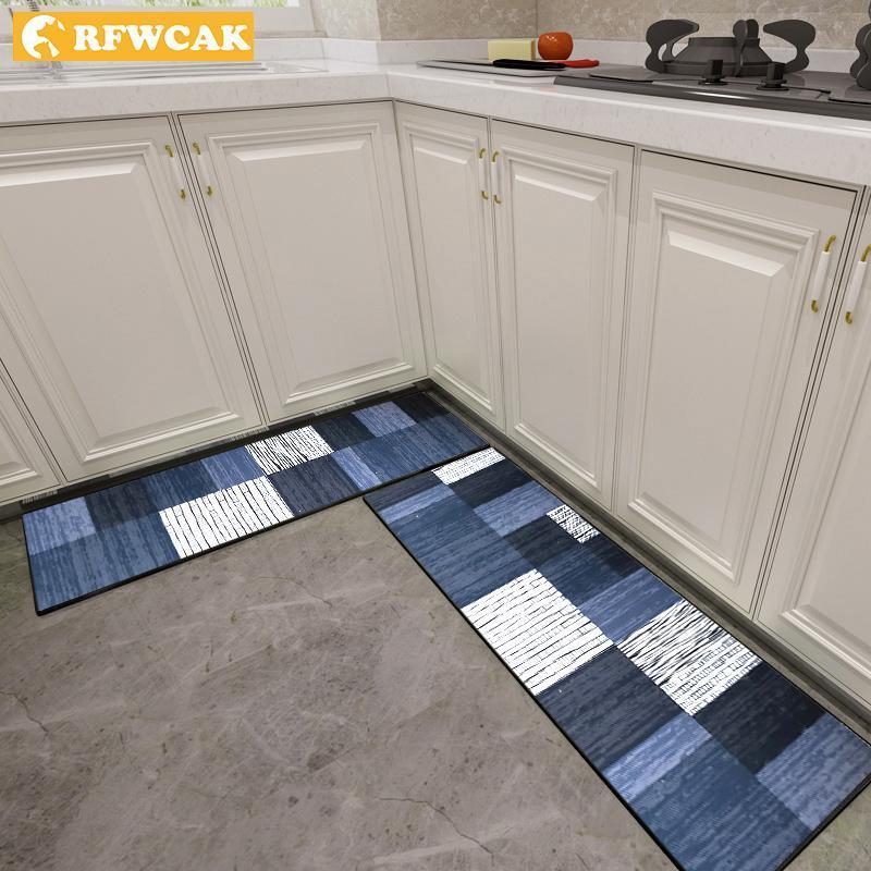 Ковры кухонные коврики для пола противоскользящие и нефтедобывающиеся анти-капельницы, без умывальников.