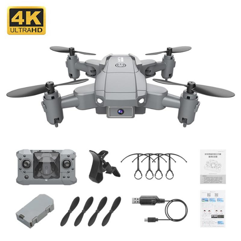 Dropship Ky905 Mini Drone con cámara 4K HD Drones plegables de HD Quadcopter One-Tecny Devolver FPV Sígueme RC Helicopter Quadrocopter Juguetes para niños