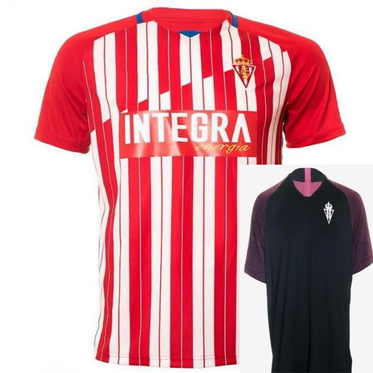 20 21 Sporting Gijón Futebol Jerseys Gijon 2021alvaro Kids Djuka Carmona Aitor G. JS Babin Perez M.Valiente Cofie Camiseta