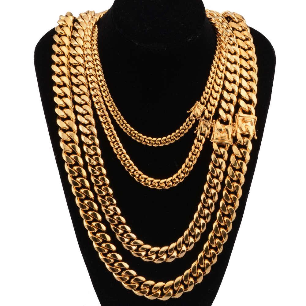 Luxury designers Fashion Hip-hop hook necklace