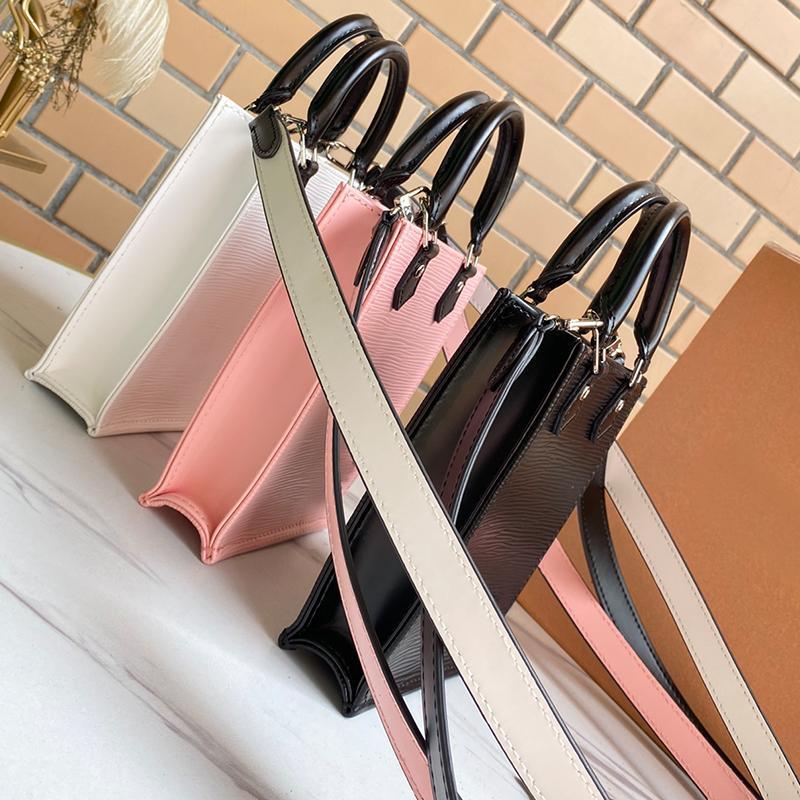 Diseñadores genuinos Carta Lujos de Lujos Crossbody Saddle Lady Bolsa de Moda Simple Calidad Plain 2021 Bolsas Bolsas de hombro Cuero Top Handb LSVA