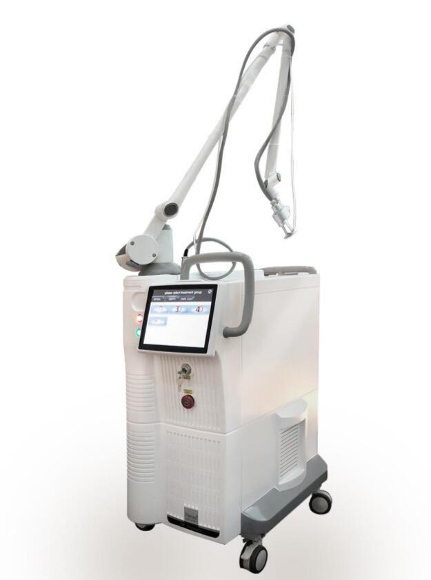 Güçlü CO2 Lazer Kesirli Ekipman Cilt Onarım Vajinal Sıkma Skarlar Streç Piyasalar Akne Kaldırma Vaginaltightenl Cilt Bakımı Makinesi Salon için