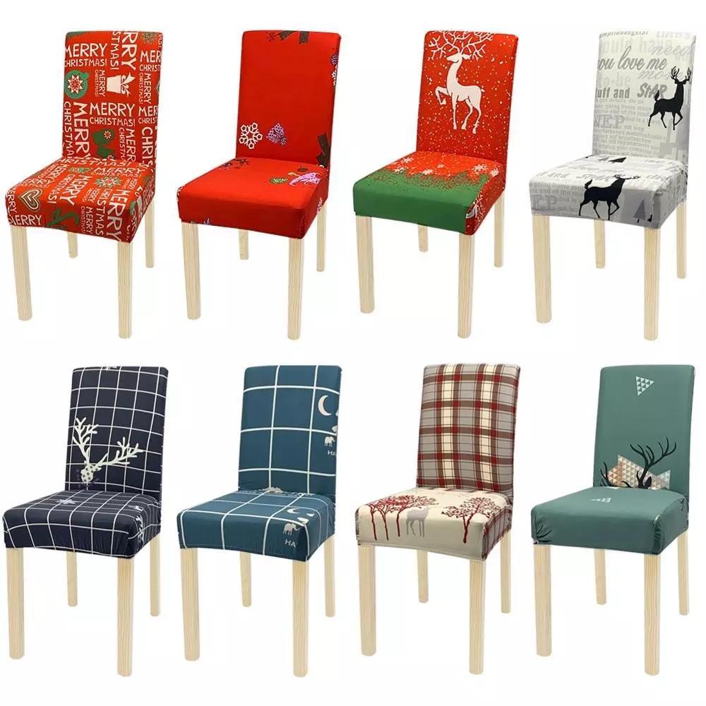 سبانديكس كرسي يغطي مرونة الطعام غطاء مقعد حامي مكافحة القذرة الأغلفة القابلة للإزالة مأدبة الزفاف مطعم ديكور 39 تصاميم wll272
