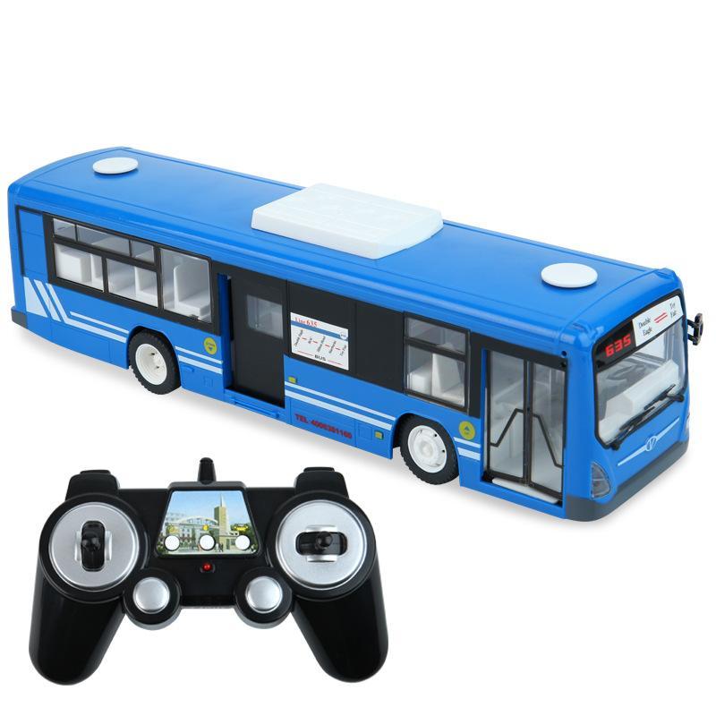 SY 2.4G RC حافلة نموذج لعبة، الأبواب الكهربائية الكهربائية، أضواء الصمام الصوت، قرن السيارة، بدوره إشارة، عيد الميلاد هدايا عيد الميلاد، 2-2