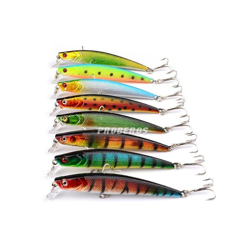 Wholesale Promotional Price Artificial Bait High Quanlity Minnow Fishing Lures 9cm 8.2g Abs Plastic jllyau warmslove