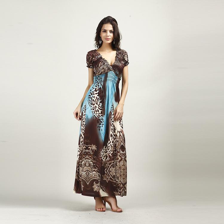 Vestito da spiaggia Nuova spiaggia Dress Beach Dress da donna Abito da seta di grandi dimensioni Vestito caldo T200801