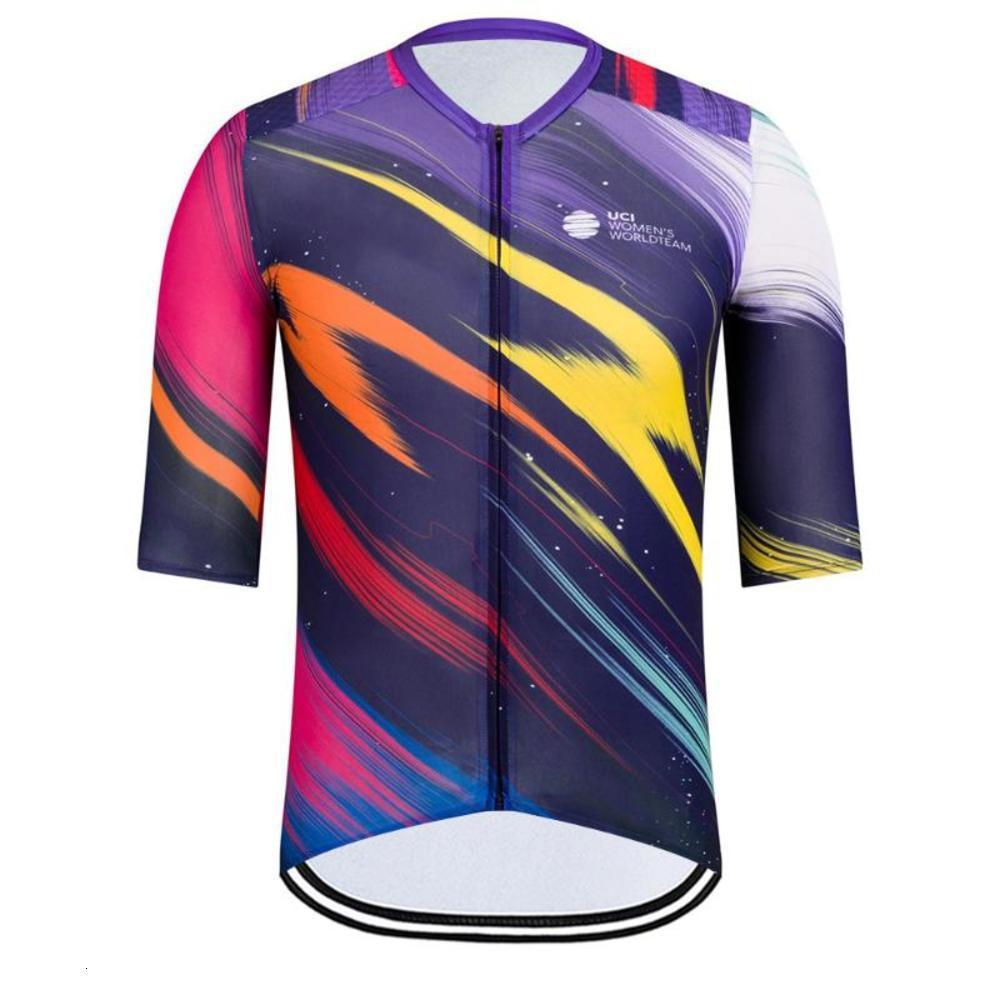 RCC 2021 NOUVEAU Été Vélo Tops Hommes à manches courtes Vêtements Vêtements Vélos Vélo Vélo Vélo Vélo Jersey Shirt Chemise Racing Vélo Port Maglia Ciclismo
