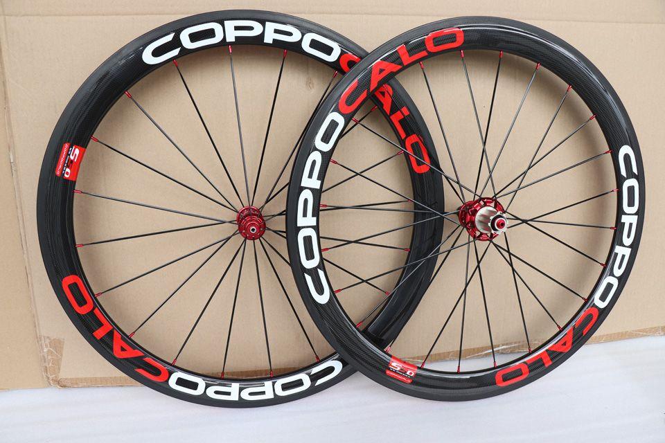 مصنع بيع 700C الكربون الطريق الفاصلة دراجة عجلات 50 ملليمتر دراجة العجلات 3K ماتي البازلت الفرامل السطح