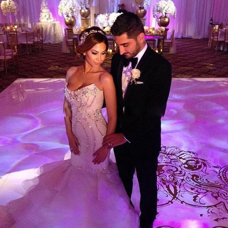 Новая русалка 2021 африканские невесты платья Vestidos de Nooivas роскошные хрустальные оборками свадьба плюс размер zg2x
