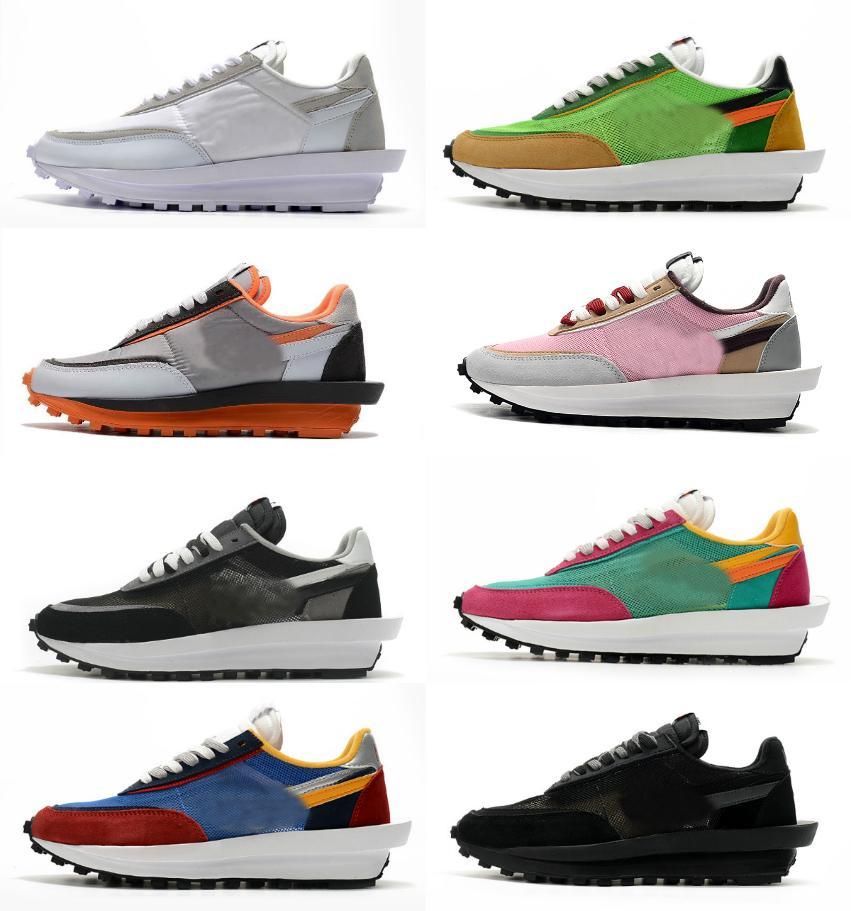 2021 Mens Running Sports Shoes Fashion LDV Waffle Donne Undercover Cheap Waffle Racer Black Bianco Trepre Daybreak Trainerity Scarpe da ginnastica Varsity