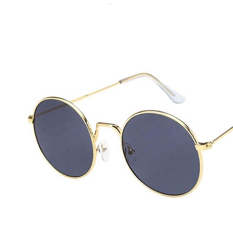 Tour des lunettes de soleil populaires de la mode en métal de mode 2020