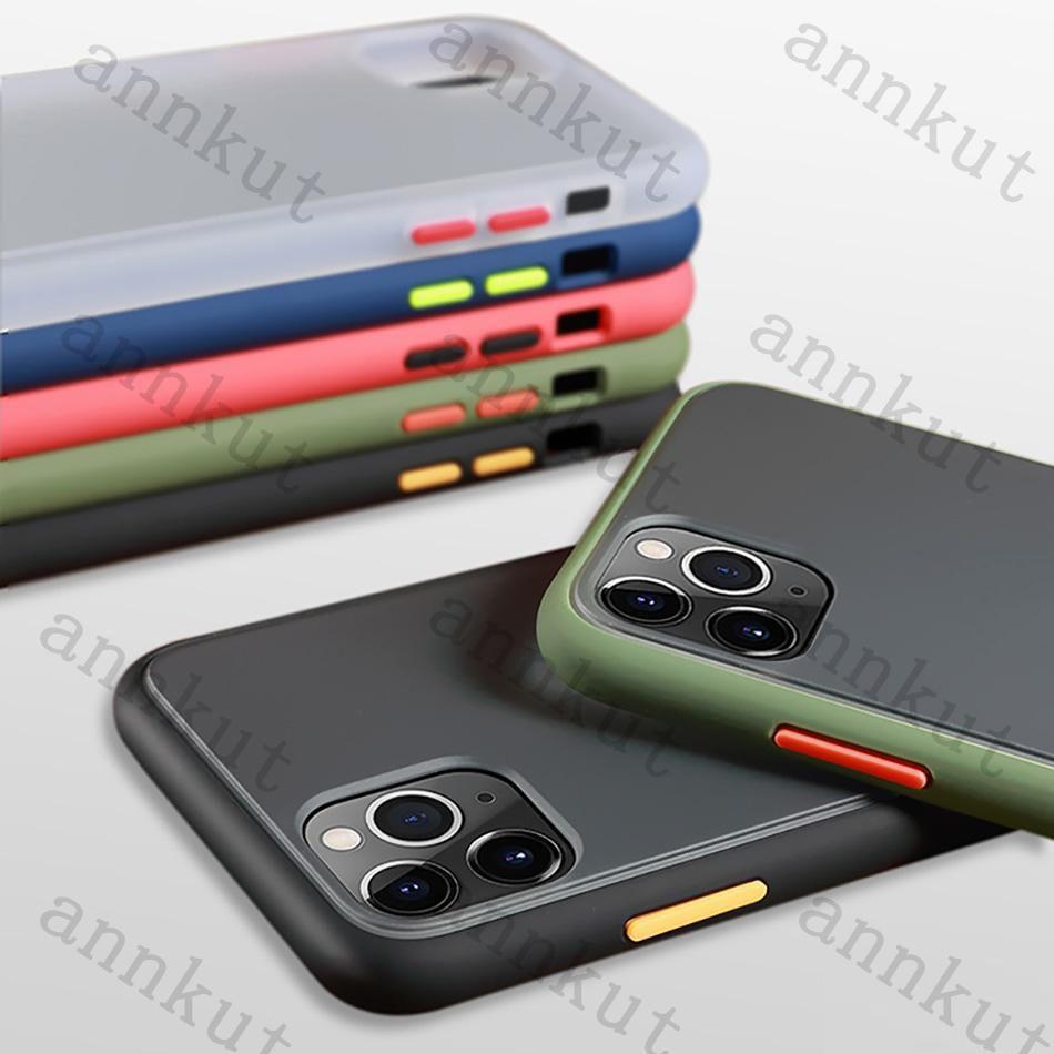 سيليكون حالة الهاتف، حالة الهاتف لآيفون 12 11 xs ماكس xr واضحة حالة الصعب صدمات الشفافية حالة الصعب ل iphone 7 11 برو ماكس