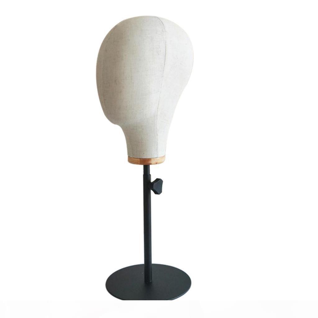 54cm Mannequin-Kopf mit Unterstützung für nachhaltige Speicherpräsentation